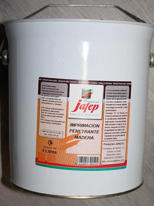 Imprimación penetrante para la madera. 0,75 L.