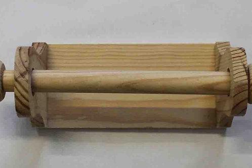 Portarrollo para papel higiénico de madera