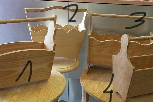Revistero madera natural distintos modelos
