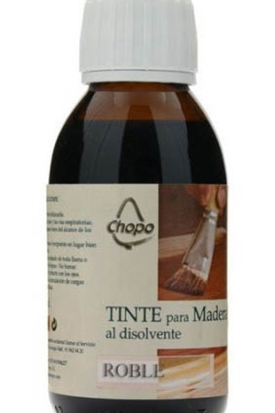 Tinte Madera al disolvente Chopo 125 cc color ROBLE