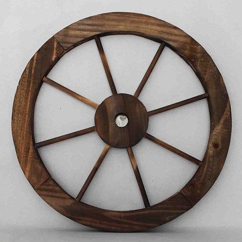 Rueda carro de madera diámetro 40 cm