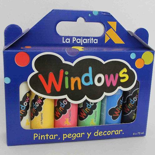 KIT WINDOWS Estuche de pintura para cristales