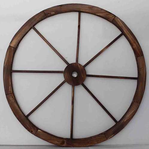 Rueda carro de madera diámetro 75 cm