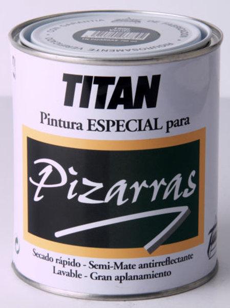 PINTURA DE PIZARRA TITAN 750 ML