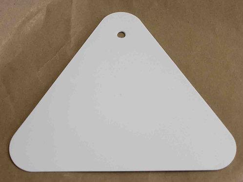 Espátula Triangular de plástico para efectos