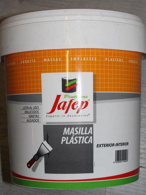 MASILLA PLÁSTICA Exterior-Interior Jafep 0,25 L.
