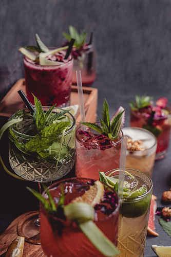 Vanaga Ligzda kokteiļi