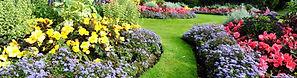 Zahrada, rostliny, květiny, trávník, krásná zahrada, kvetoucí zahrada, květinové záhony, park, zeleň, zakládání zahrad, údržba zahrad, údsžba zeleně, sekání trávníku, zakládání záhonů, veřejná zeleň