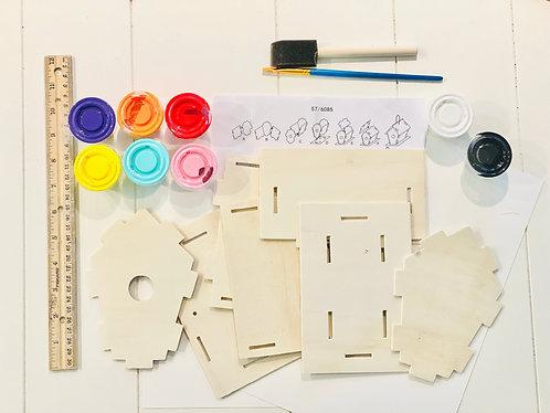 Birdhouse Art Kit