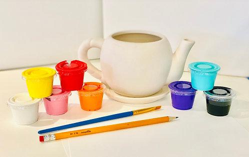 Ceramic Flower Pot Planter Art Kit