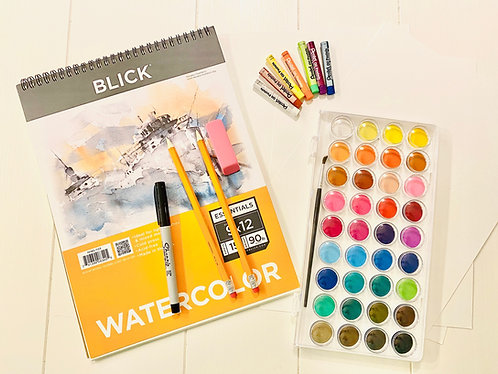 Water Color Art Kit
