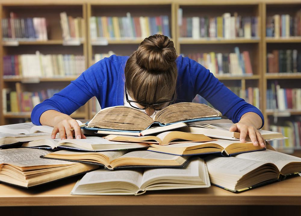 exam stress study pressure