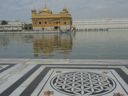Flower of Life Golden Temple, India