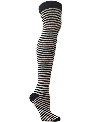RocknSocks Striped Organic Cotton Over The Knee