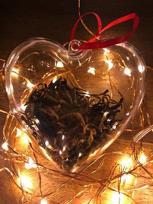 Tea Tree Heart Ornament