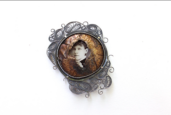 Remember Me Brooch #1