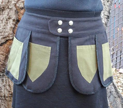 Forest Green Pocket Belt