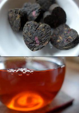 Dark Rose Heart Tea
