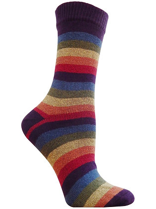 Iris Rainbow Crew Socks