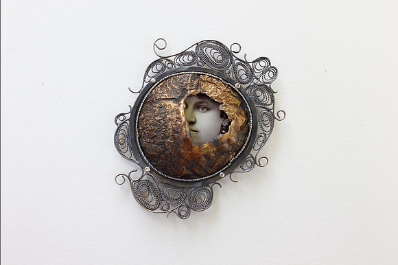 Remember Me Brooch #2
