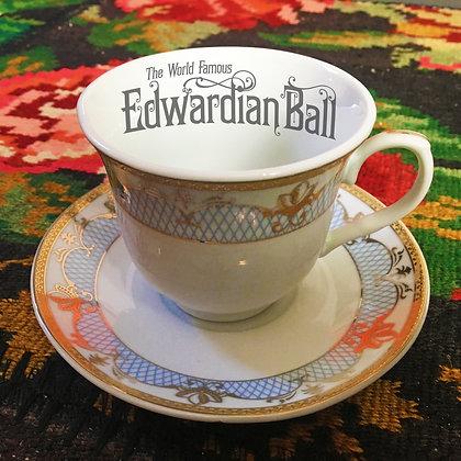 2020 Edwardian Ball Commemorative Tea Cup