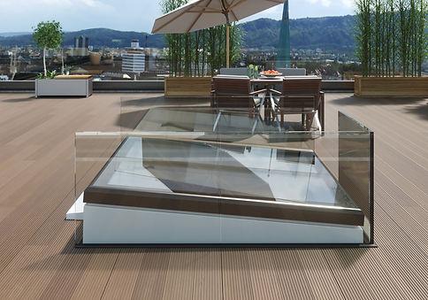 LAMILUX Flat Roof Exit Comfort Square - RCE LATAM