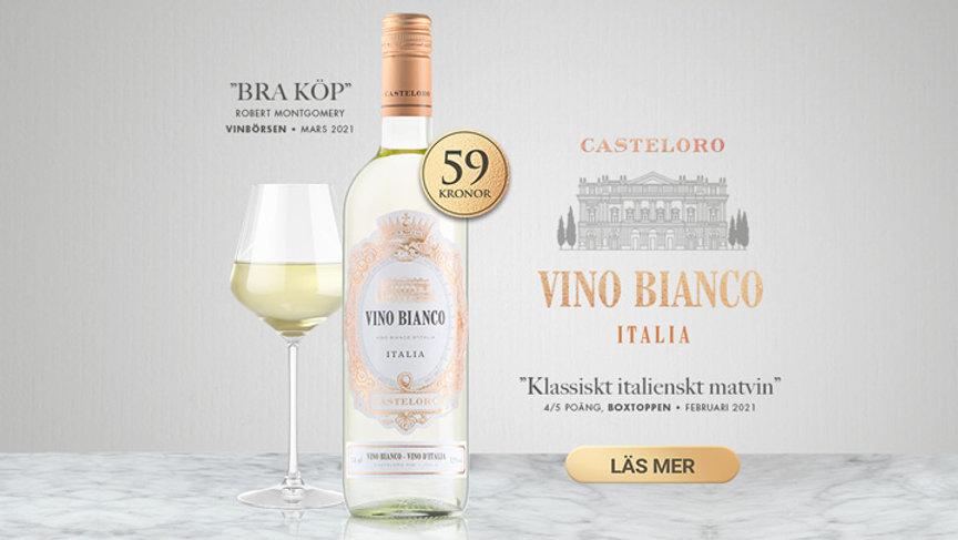 Nyhet, Casteloro Vino Bianco