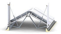 LAMILUX Ridged Roof Continuous Rooflight SHEV - RCE LATAM