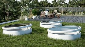 Ventanas para techo plano, que también sirven como elemento para obtener ventilación natural.
