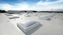 Iluminación natural con tragaluces, claraboyas y lucernarios LAMILUX fabricados en Alemania - RCE LATAM