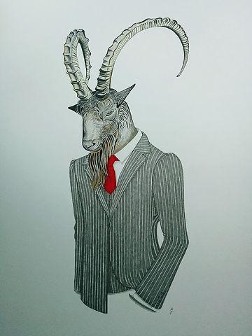 Friend as goat