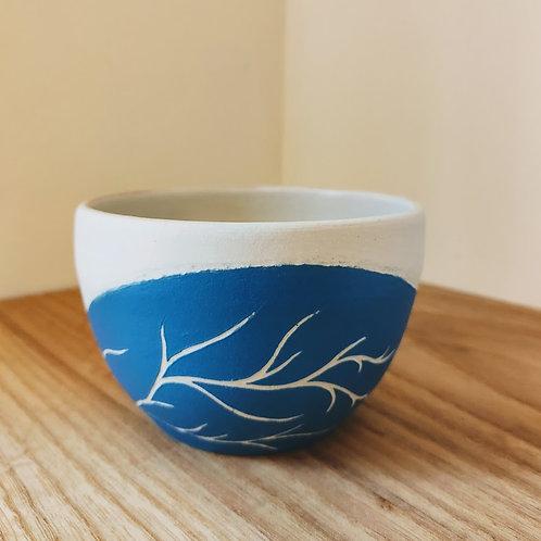 Teal bowl A