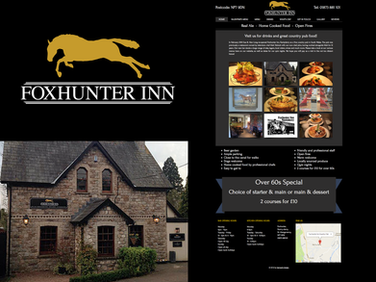 Foxhunter Inn - Branding