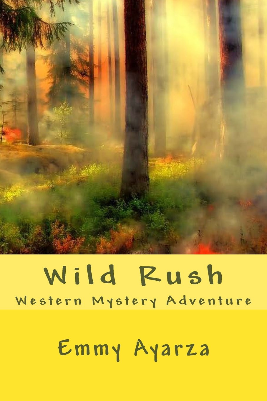 Wild Rush Western Mystery Adventure by Emmy Ayarza