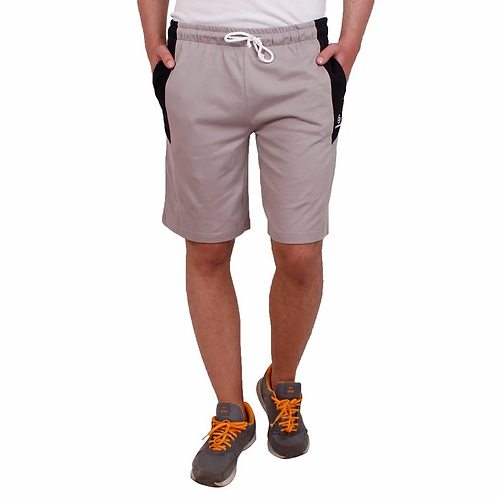 Grey Regular Fit Shorts