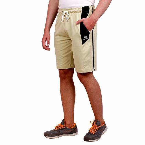 Yellow Regular Fit Shorts