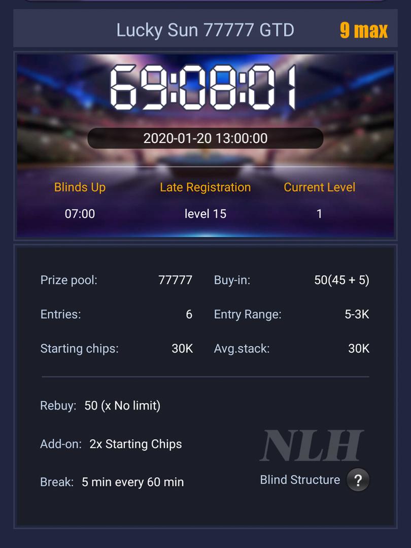 Pokerbros tournament