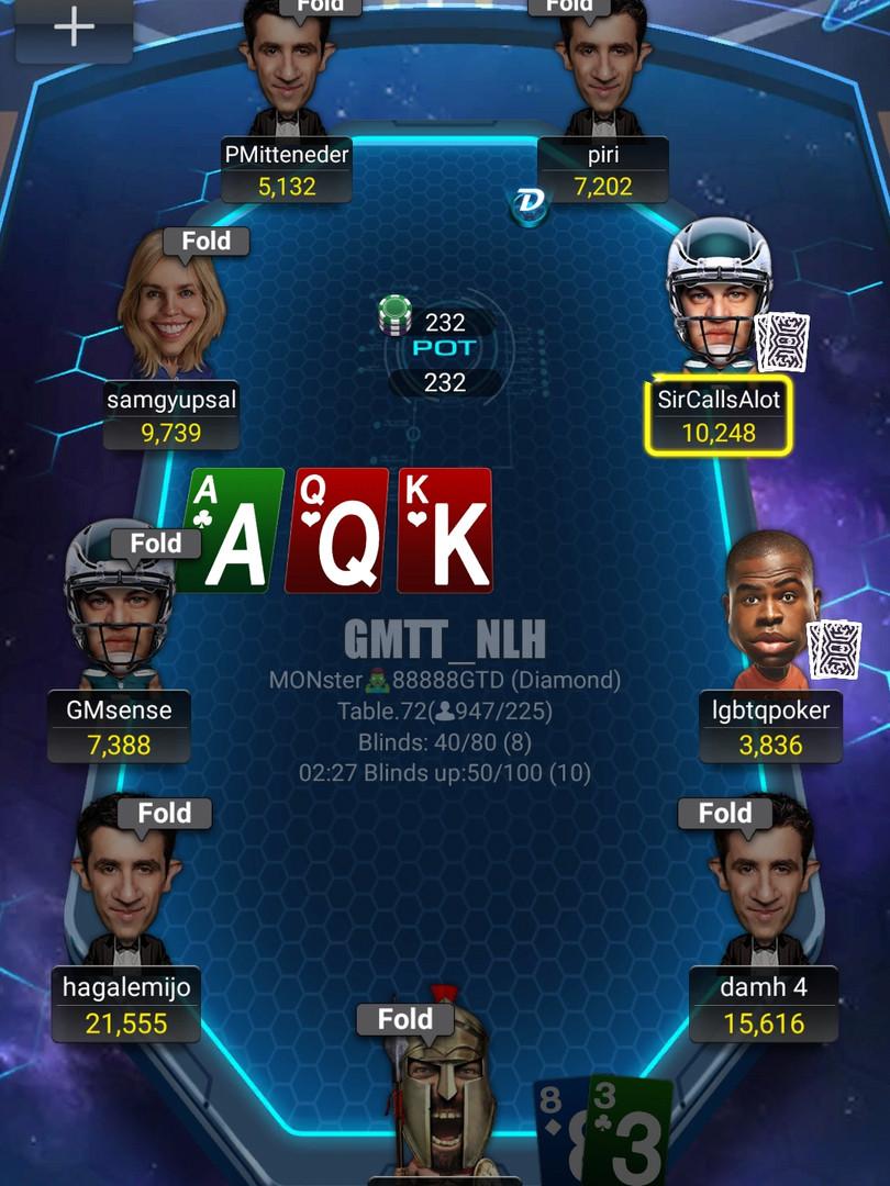 Pokerbros Futuristic table