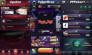 PPPoker Pokerbros Upoker clubs page