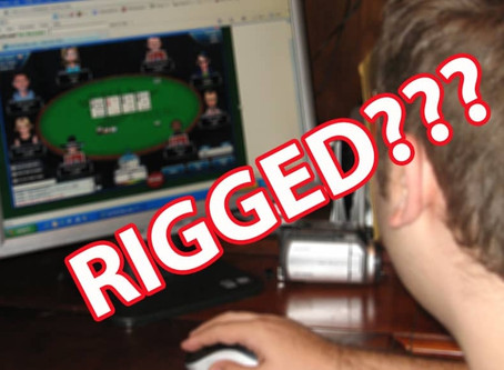 Only Idiots Think Online Poker Is Rigged