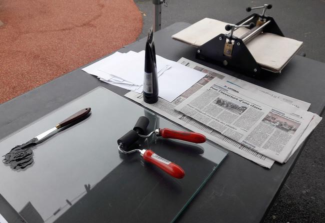 atelier gravure de mots
