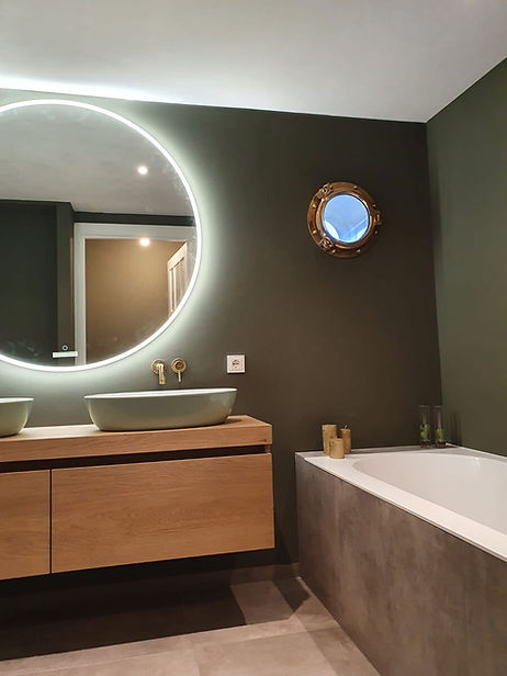 Renovatie badkamers
