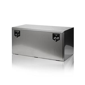 Gereedschapskist Vrachtwagen Toolbox Tilbox Onderbouwkist RAL9011 Opbergruimte Kast Trailer Koffer Inox koffer