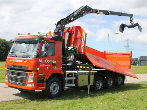 Speciale vrachtwagen