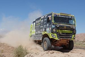 Team Tilbox Dakar 2017