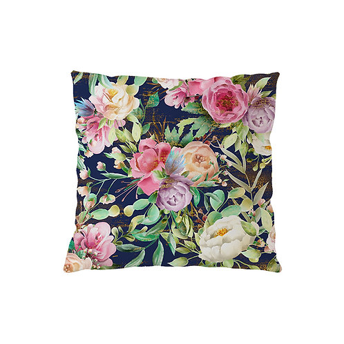 Cushion Rose Indigo