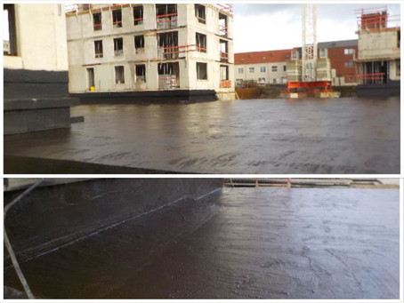 Parking garage of over 1,600 m2 seamlessly sealed with Novacell