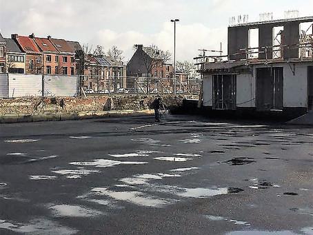 Underground car parking Belgium