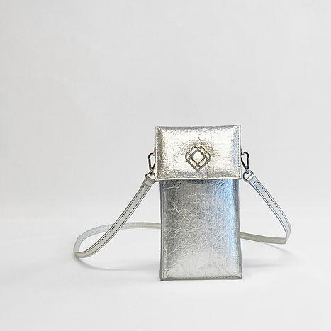 Phone bag Pineapple Silver.jpg