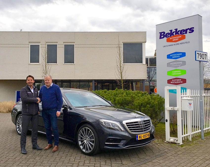 Uitbreiding vervangend vervoervloot Bekkers Autoschade met Mercedes S-klasse